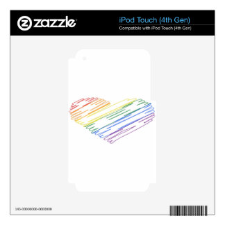 lgbt18 decals for iPod touch 4G