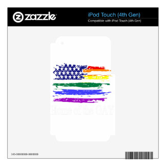 lgbt21 skin for iPod touch 4G