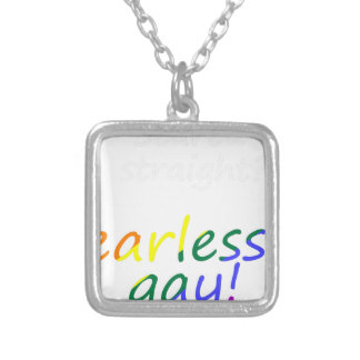 lgbt28 silver plated necklace