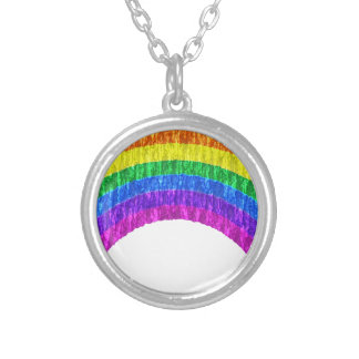 lgbt4 silver plated necklace