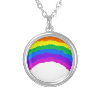 lgbt7 silver plated necklace