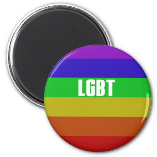 LGBT 2 INCH ROUND MAGNET
