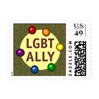 LGBT Ally Baubles Postage