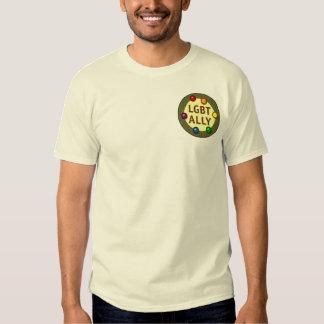 LGBT Ally Pocket Baubles T-Shirt