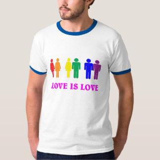LGBT, amor es amor Remeras