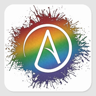 LGBT Atheists Symbol Stickers