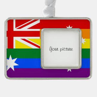 LGBT Australia Christmas Ornament