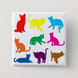 LGBT Cats Pinback Button
