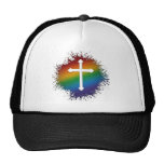 LGBT Christian Cross Trucker Hat