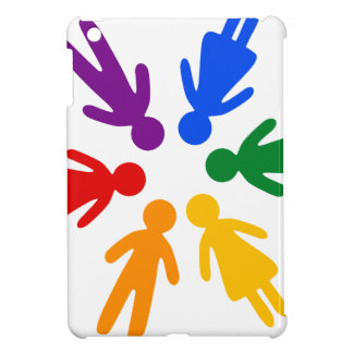 lgbt circle iPad mini covers