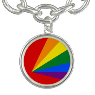 LGBT Color Rainbow Flag Bracelet