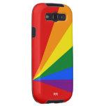 LGBT Color Rainbow Flag Galaxy SIII Covers