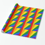 LGBT Color Rainbow Flag Gay Pride Wrapping Paper