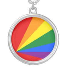 Lgbt Color Rainbow Flag Jewelry at Zazzle