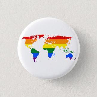 LGBT Flag Map Buttons