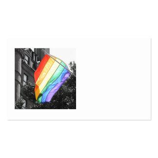 LGBT Flag Photo Business Cards
