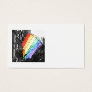 LGBT Flag Photo Business Card