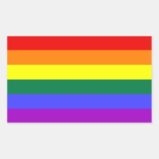 LGBT Flag Rectangular Sticker