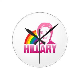 LGBT FOR HILLARY CLINTON 2016 CLOCKS