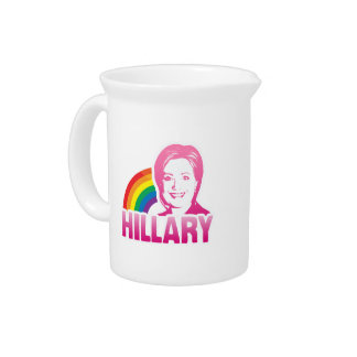 LGBT FOR HILLARY CLINTON 2016 PITCHERS