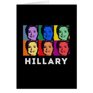 LGBT for Hillary Clinton - Pop Art --.png Card