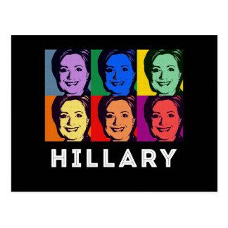 LGBT for Hillary Clinton - Pop Art --.png Postcard