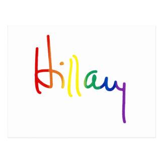 LGBT for HILLARY CLINTON Postcard
