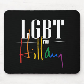 LGBT FOR HILLARY MOUSE PAD