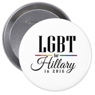 LGBT FOR HILLARY --.png Button