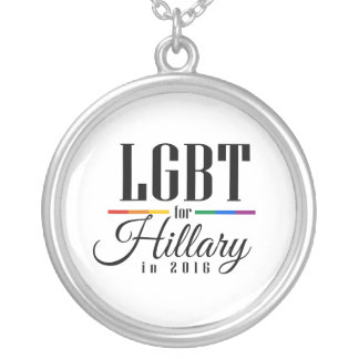 LGBT FOR HILLARY --.png Custom Jewelry
