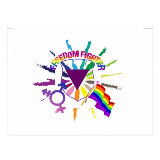 LGBT Freedom Fighter Post Cards