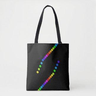 LGBT Gay PRIDE Diversity Rainbow Tote Bags