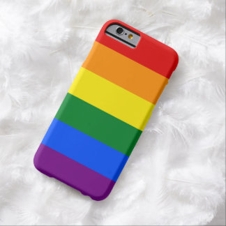LGBT Gay Pride Rainbow Flag 6 Stripes Barely There iPhone 6 Case