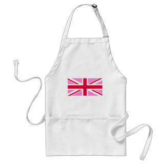 LGBT Gay Pride Rainbow Flag of the United Kingdom Adult Apron