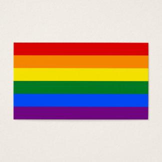 LGBT Gay Pride Rainbow Flag Stripe Business Card