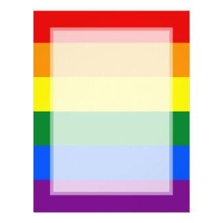 LGBT Gay Pride Rainbow Flag Stripe Flyer