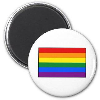 LGBT Gay Pride Rainbow Flag Stripe Magnets