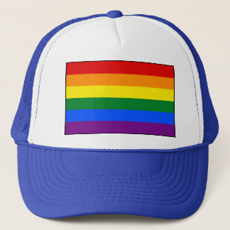 LGBT Gay Pride Rainbow Flag Trucker Hat