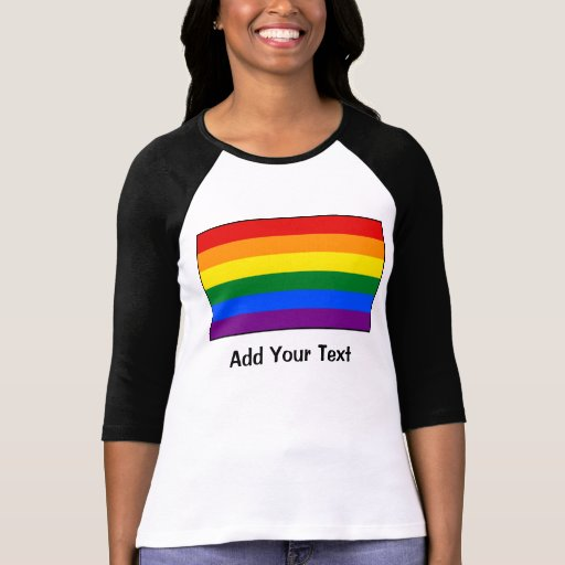 LGBT Gay Pride Rainbow Flag Tshirt