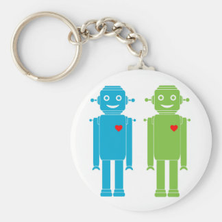LGBT Gay Robots Key Chain