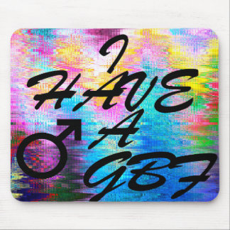 LGBT Gifts GBF Mouse pad
