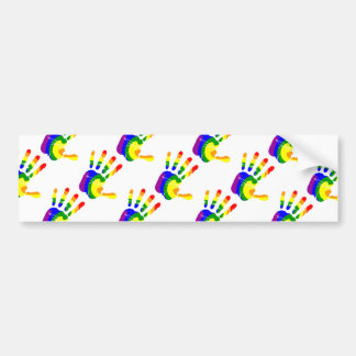 LGBT Handprint Pegatina Para Auto