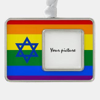 LGBT Israel Ornament