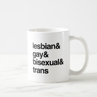 LGBT LIST COFFEE MUG