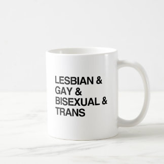 LGBT LIST CLASSIC WHITE COFFEE MUG