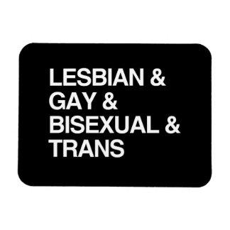 LGBT LIST MAGNETS