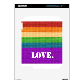 LGBT Love Decal For iPad 3