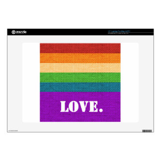 LGBT Love Decal For Laptop