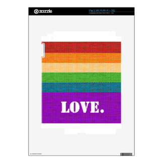 LGBT Love Decals For The iPad 2