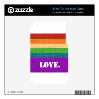 LGBT Love iPod Touch 4G Skins